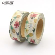 Colorful japanese rice paper waves custom printing washy tape