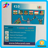 printing scratch card for mobile phones with pin code