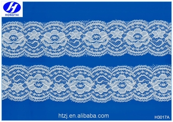 Hongtai decorative stretch elastic liturgical lace trim for sexy panties
