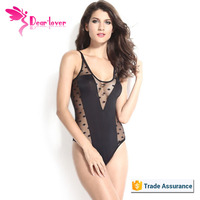 Wholesale Sexy Scoopneck Polka Dot Teddy Lingerie