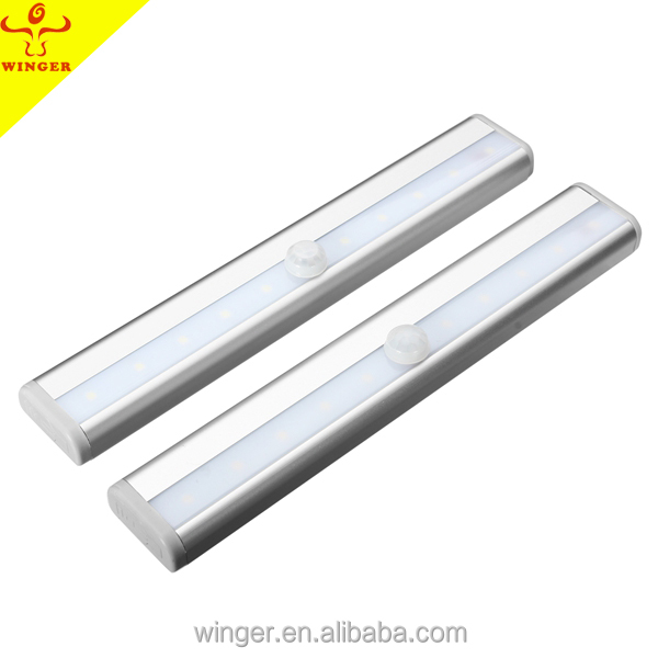 High quality battery operated LED sensor light for clothing