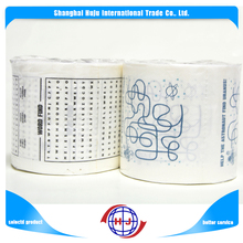 Factory wholesale fancy 3 ply custom printed toilet paper tissue roll
