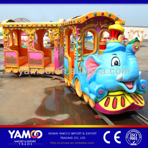 Christmas Decorate kids rides animal track train in shopping mall for sale