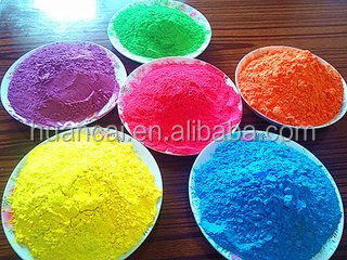 Popular colorful Holi Gulal Powder India