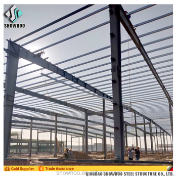 Large Span Prefabricated Portable Warehouse