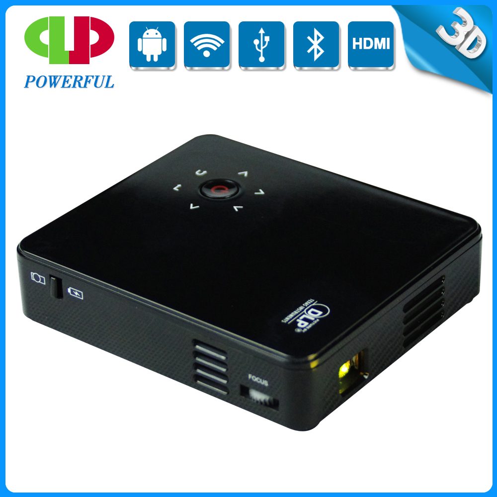 3D DLP Full HD 1080p android Long life lamp best portable projectors with Miracast/DLNA/Bluetooth