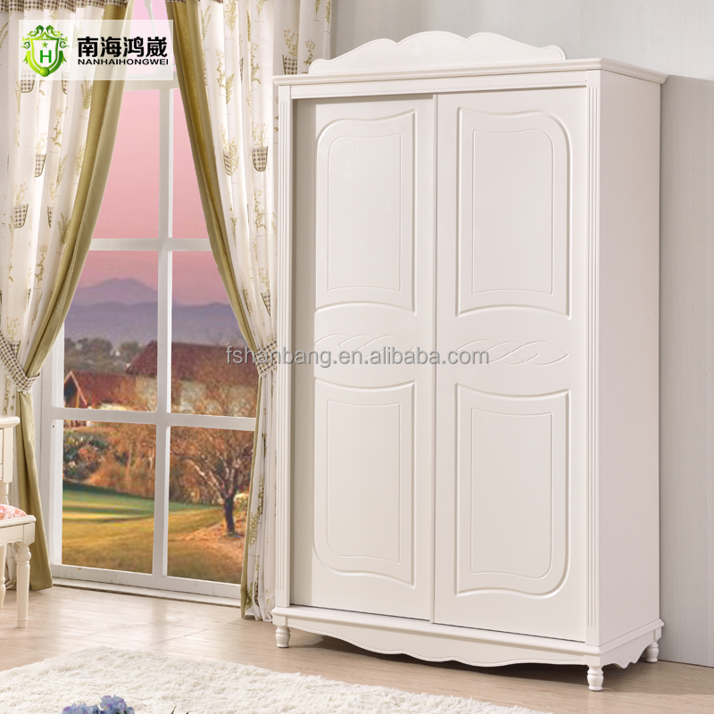 Knock Down Flatpack Home Country Simple Design Modern Bedroom Wall Sliding Wardrobe Cabinet Design