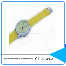 Fashion children wrist quartz watch silicone material strap watch for students