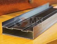 aluminium profile bottom rail for sliding door wardrobe garderobe armiore