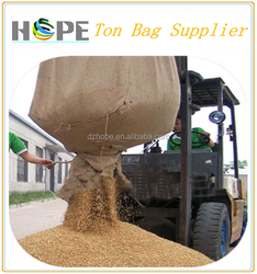 100% raw material 1000kg bulk bag 1 ton rice bag/pp jumbo bag price