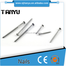 China supplier concrete steel nail for construction 45 # stell
