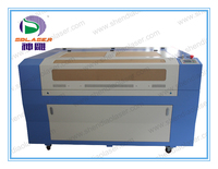 New factory product!!! Double heads laser machine for engraving and cutting with CE and FDA
