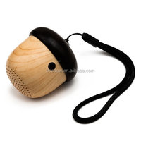 2017 Outdoor Portable Mini Wireless Bluetooth Nut Multimedia Speaker with Sling for iPhone