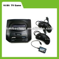 Sell 16 bit TV game console video game pad inside shooting fighting fire games