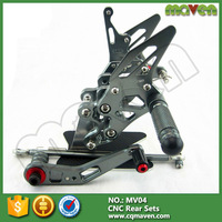 China Cnc Milled Racing Motorcycle Foot Control Rear Sets For Kawasaki Z1000 Parts