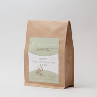 Caffeine Free, Organic Brown Rice Herbal Tea, Limited Quantity Family Sharing Boutique
