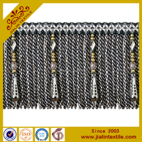 high quality beaded bullion fringe