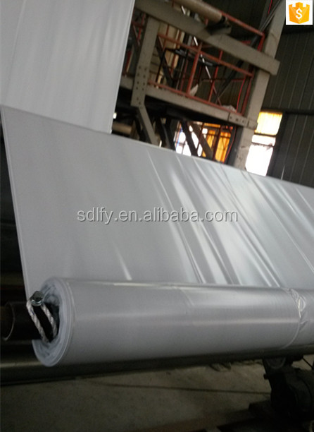trade assurance White and black plastic covering sheeting for silage pit