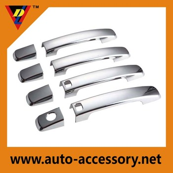 Car parts accessories ABS chrome door handle cover for frontier maxima Qashqai