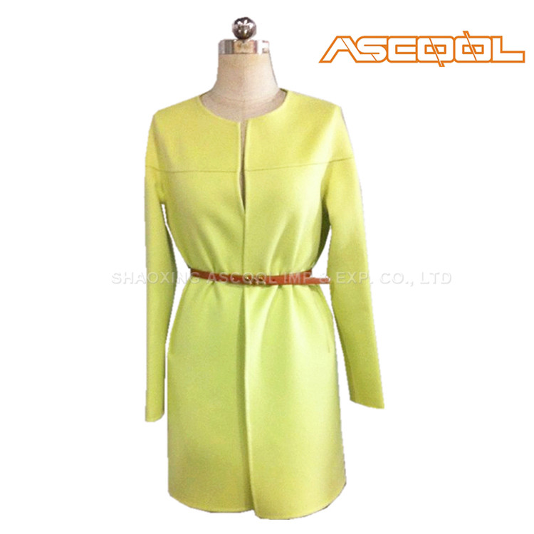 China manufacturer Wool/Viscose long spring jackets