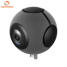 L720 Double 360 Degree Spherical Panoramic Point and Shoot Digital Video Sports Action Cameras Ball