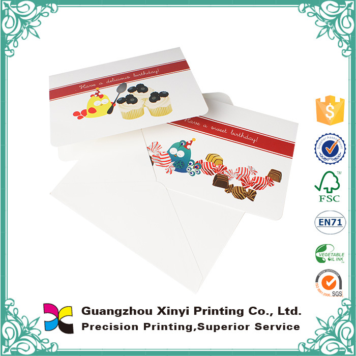 2015 high quality paper calling card, paper visiting card,paper business card printing
