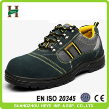 2016 new fashion suede leather strong sports safety shoes