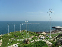 3KW Off Grid Wind Power Supply Systems / 3000W Wind Turbine Generator For Home / 3kw wind energy system for home
