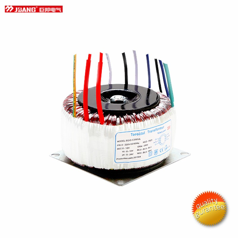 factory prices 100w 12V 48V 110V 220V 230V 240V toroidal transformers