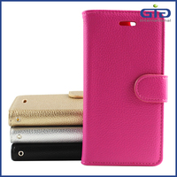 [NP-2522] With Stand and Soft TPU Interior Wallet Cases for iPhone 6 Leather Cases