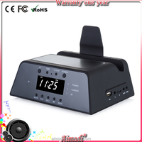 2016 new product bluetooth speaker alarm clock