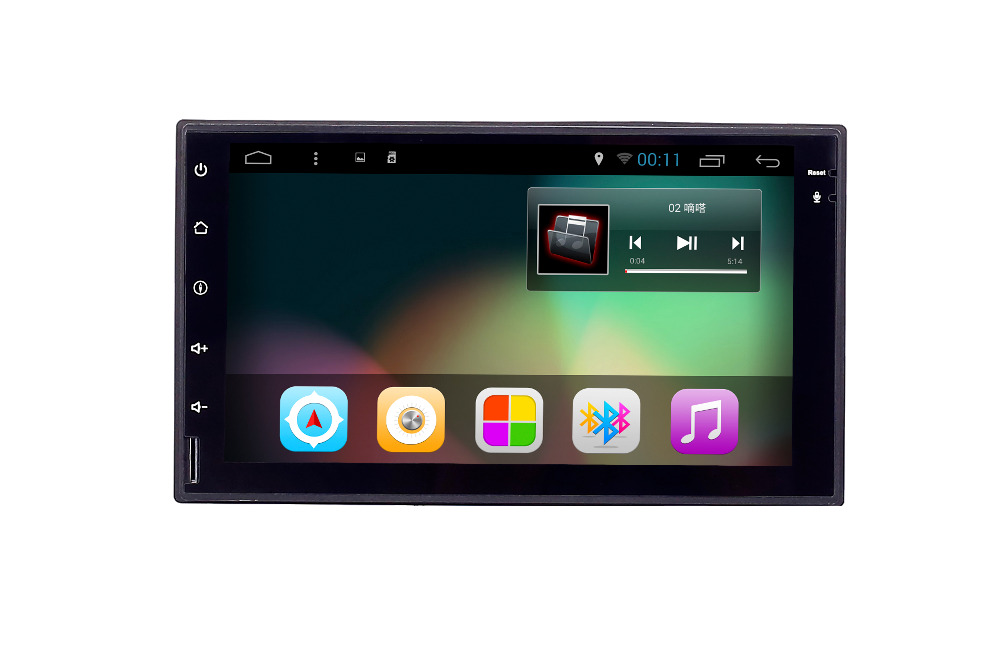 7 inch 2Din Universal 1080P Bluetooth Gps Car Head Unit