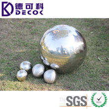 Steel ball manufacturer 1m large stainless steel ball hollow garden ornaments