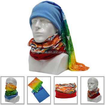 Custom Promotional Gifts Stretchy Seamless Tubular Multifunctional Polar Fleece Bandana