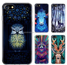 new colored drawing designs phone case for iphone series soft mobile cover modern art design