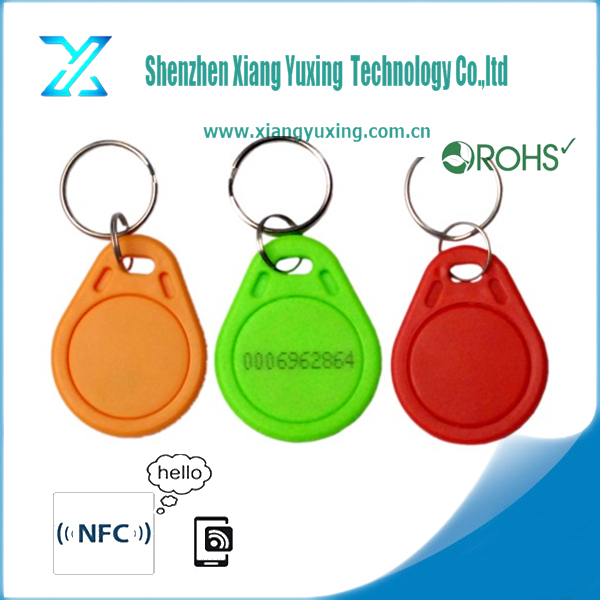 Wholesale custom rfid access control key fob water proof