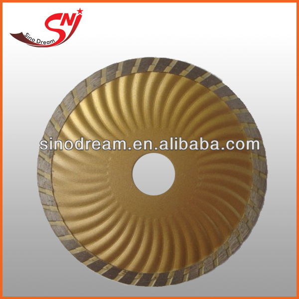 125mm Cold Pressed Strengthen Turbo Diamond Saw Blade/Cutting Disc