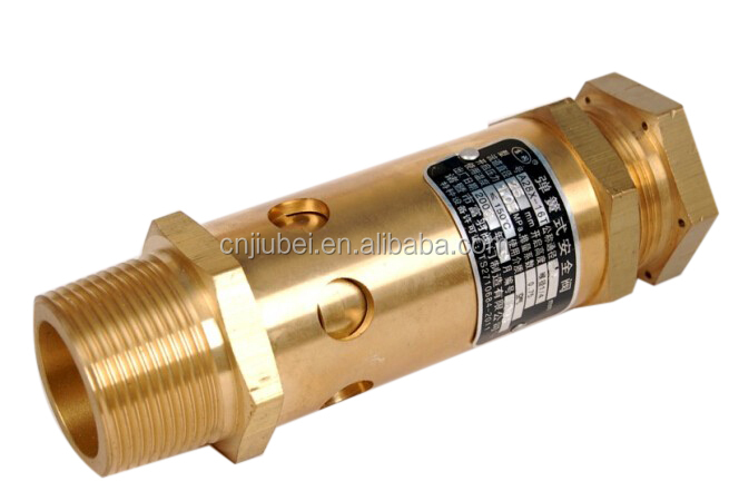 spring loaded safety valve air comressor valve safety valve with spring type brass valve for compressor