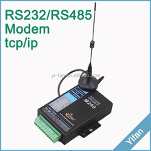 M240 Series Din Rail mounting serial port RS232 RS485 gprs gsm <strong>modem</strong> for AMR PLC