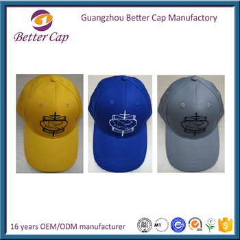 promotion cheap price cotton embroidery baseball cap