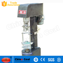 TDFJ-160 semi automatic jar capping and sealing machine / tin can sealer