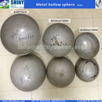 300mm stainless steel half ball