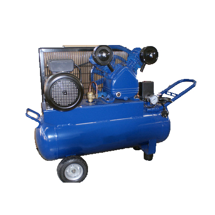 single stage portable rechargeable sliding rotary vane air compressor