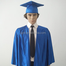 Shiny Graduation Gown Cap /academic gown&cap customed