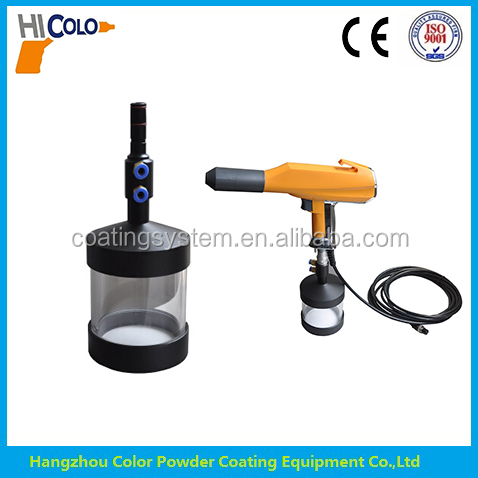 Small powder coating Hopper for powder spray machine