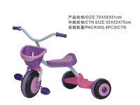 Plastic tricycle for baby