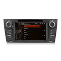 Winmark 7 Inch 1 Din Car Audio DVD Player Stereo With Dual Core GPS Bluetooth Radio EX-TV For BMW 3 Series E90 (2005 - 2012)