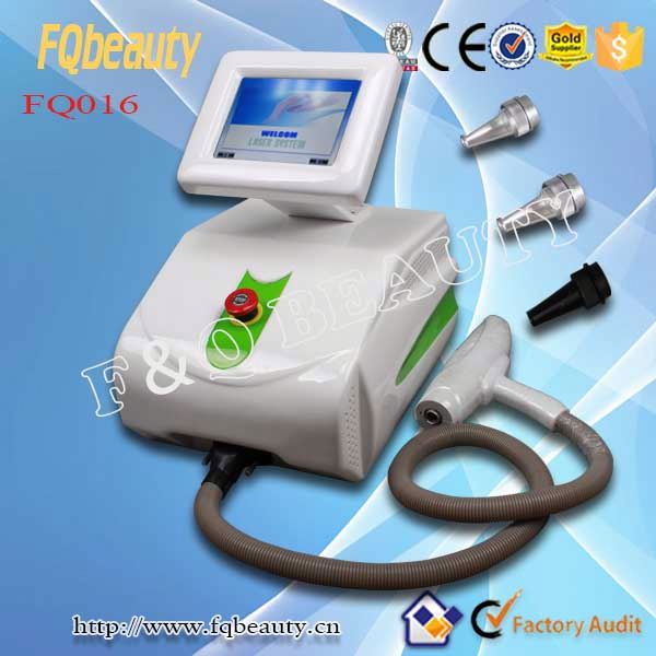 Professional FQ016 1000mj portable laser tattoo removal