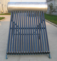 High Quality 200L integrated pressurized solar water heater(manufacturer)