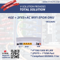 EPON Access 4GE+2FXS+USB+ 11AC WiFi ONU Wireless with Bring and Routing